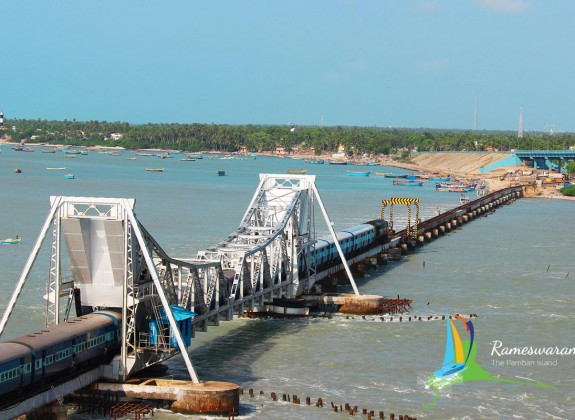 pamban train bridge rameswaram