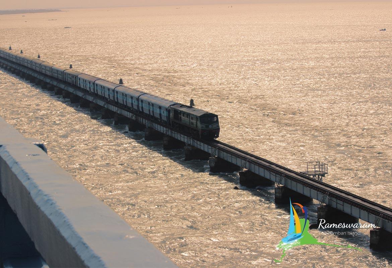 Rameshwaram Pamban bridge photos