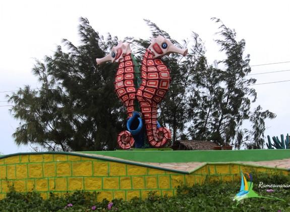 rameswaram mandapam beach park