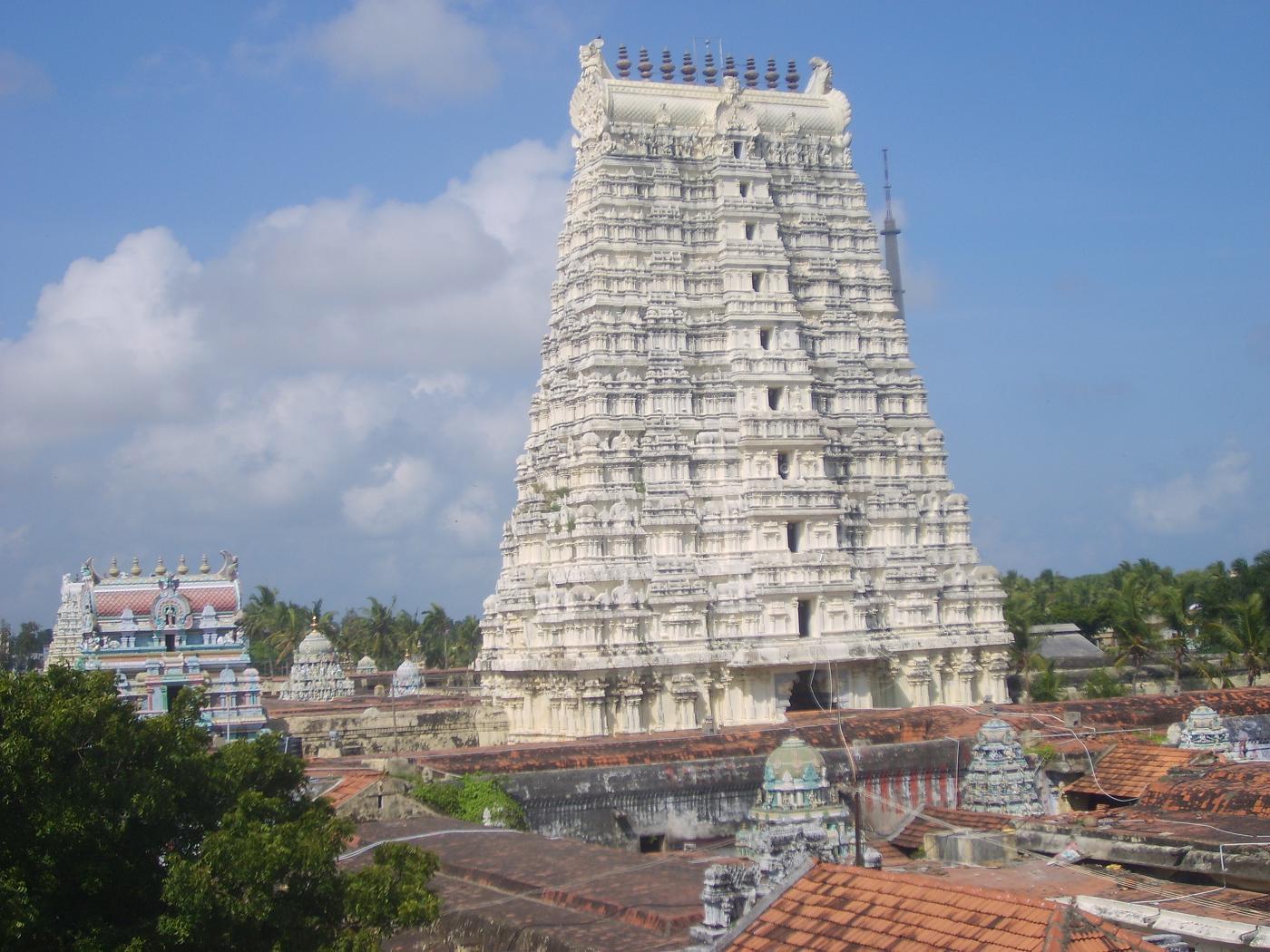 rameswaram temple route