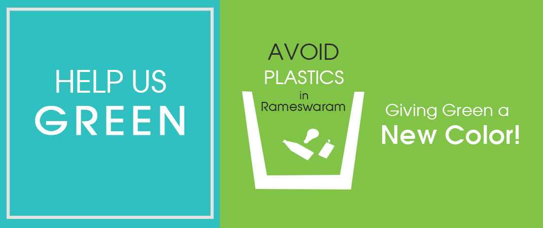 Avoid plastics in rameswaram