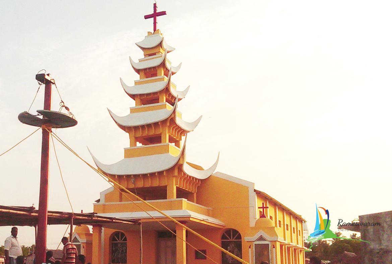St. Antony's Church, Ramanathapuram, Tamil Nadu