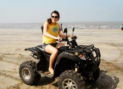 atv beach ride rameswaram