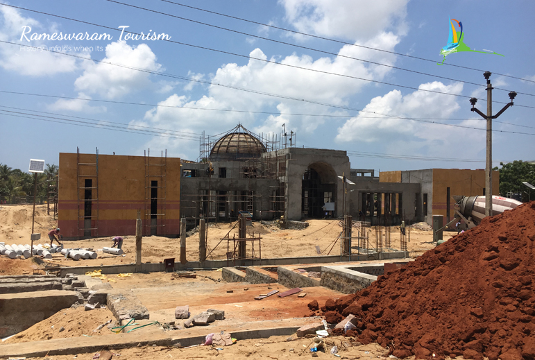 apj-abdul-kalam-memorial-construction-work-site-rameswaram