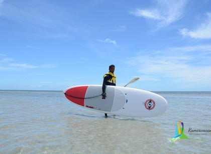 Standup board watersports in rameswaram