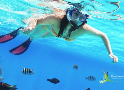 snorkeling sangumaal beach-holyislandwatersports rameswaram
