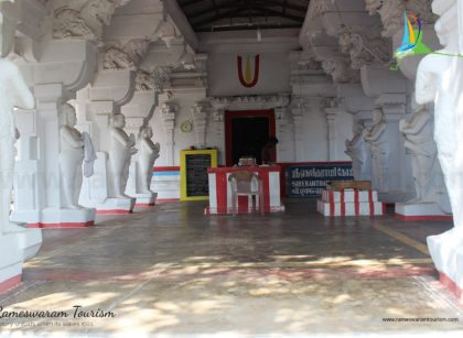 Sri Ekantharamasamy Temple thangachimadam 15th century