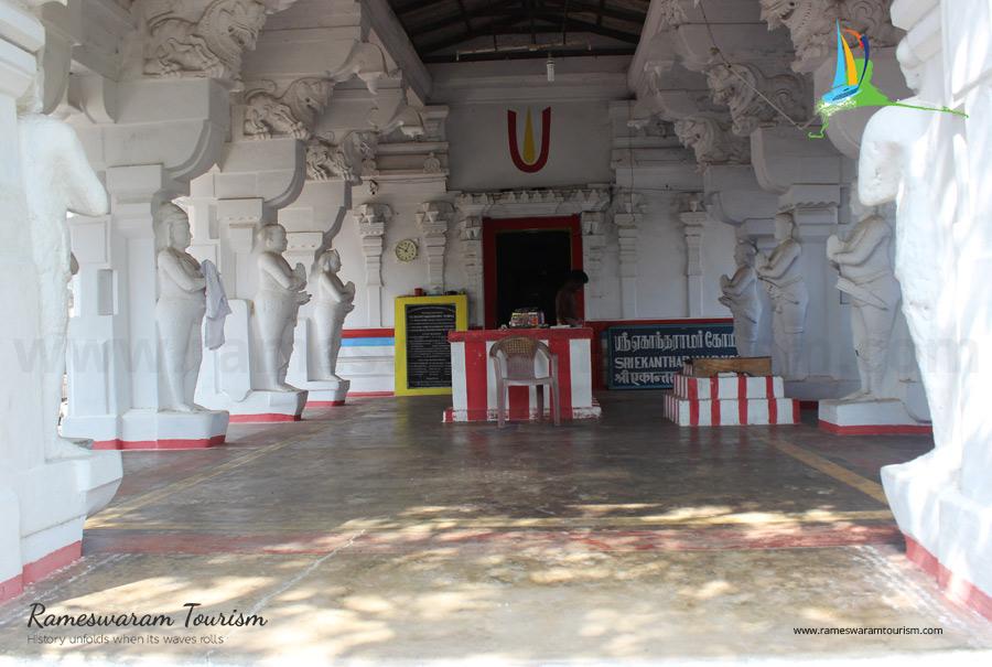 Sri Ekantharamasamy Temple thangachimadam 15th century