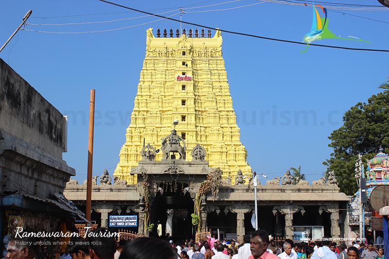 rameswaram maha shivaratri temple backside