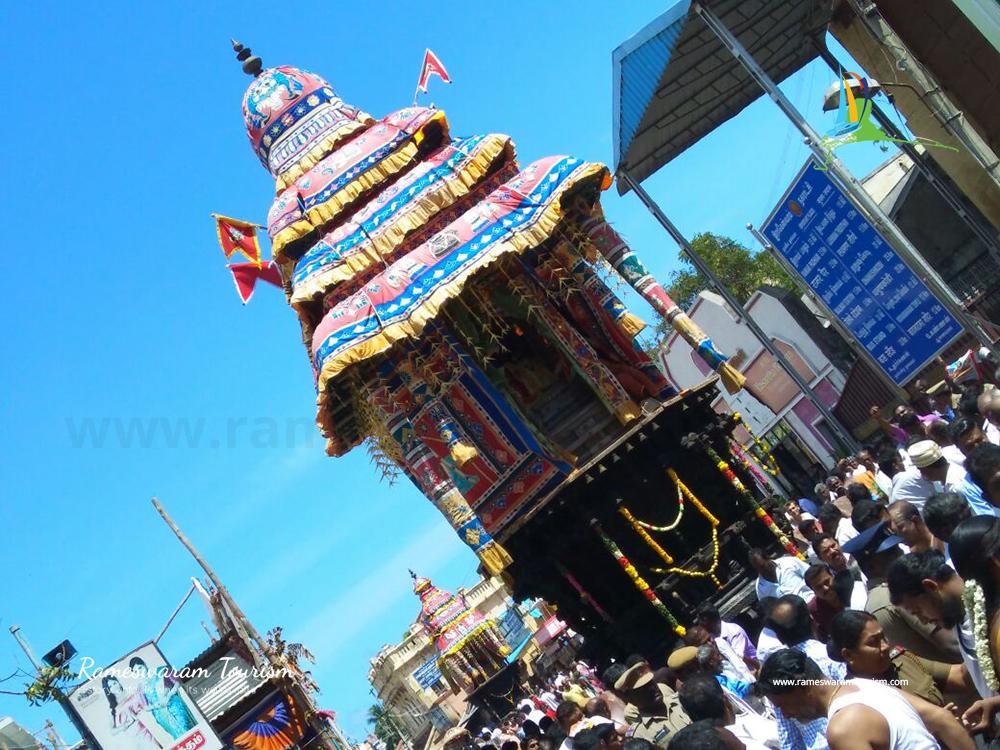 thanga ther bhavani rameswaram maha sivarathri