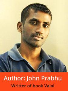 author john prabhu book valai