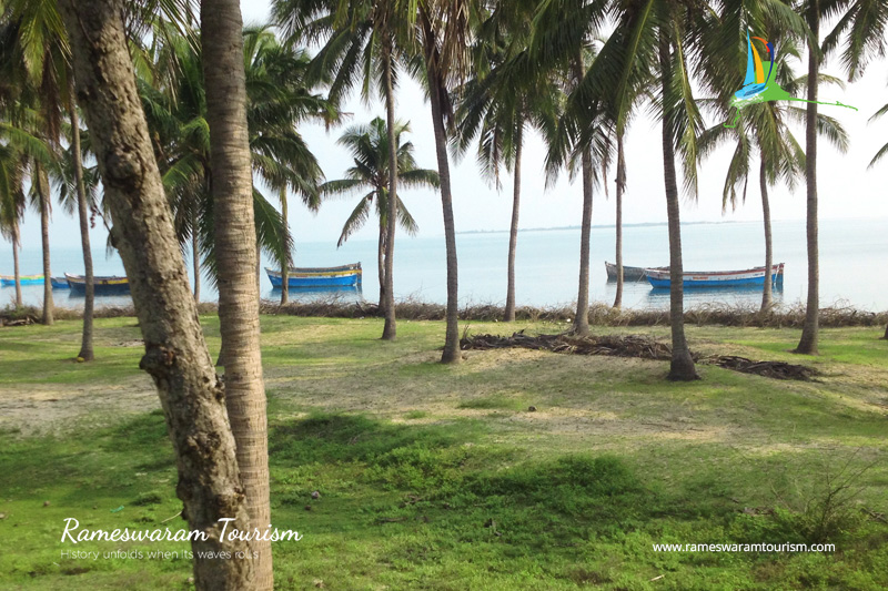 Kunthu kal Beach Pamban