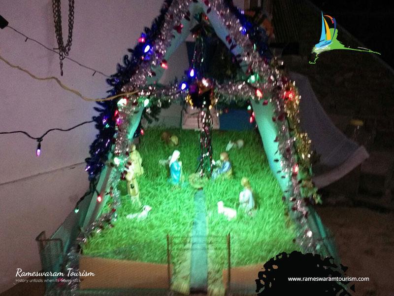 christmas crib 2017 rameshwaram island