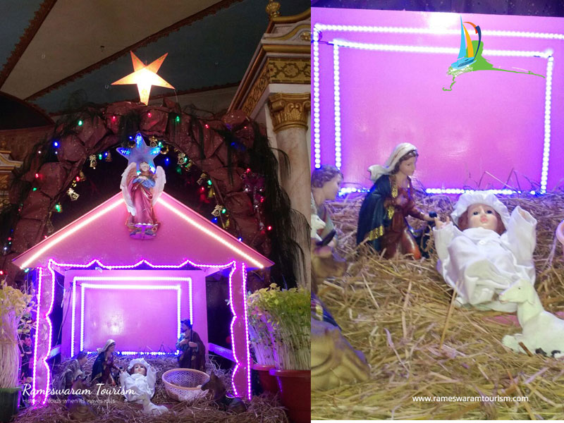 christmas crib rameshwaram