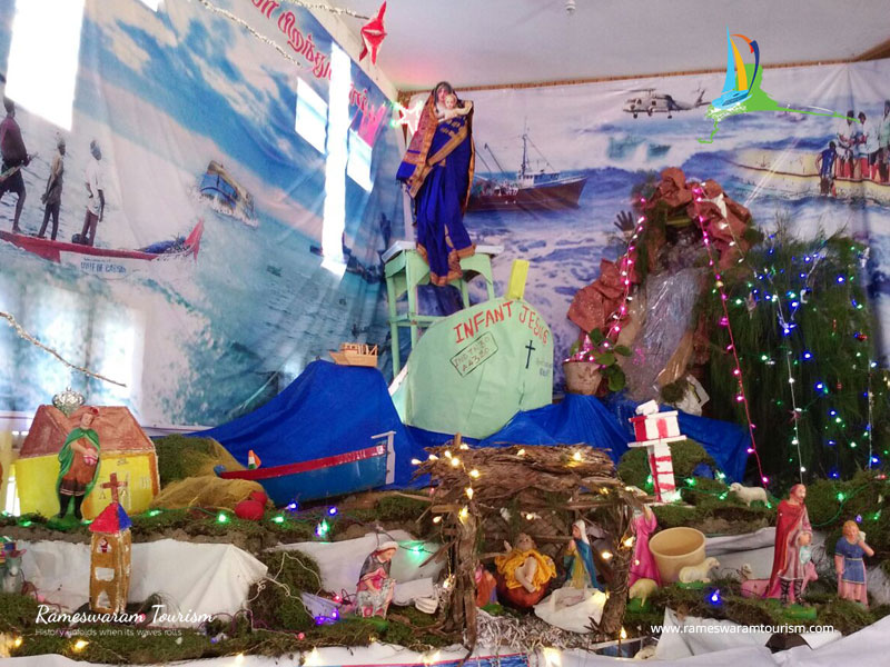 christmas crib 2017 rameshwaram