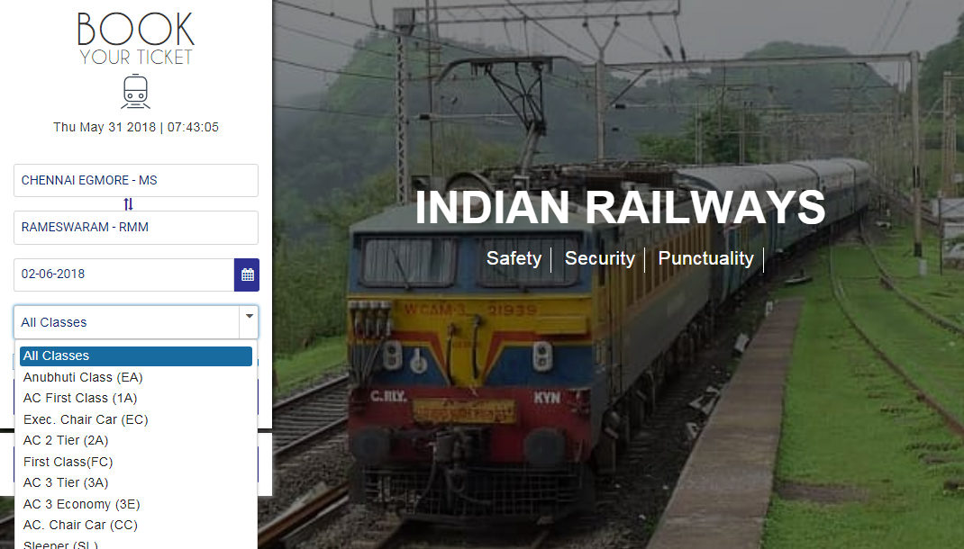 Irctc Introduces Seat Availability Check Without Logging