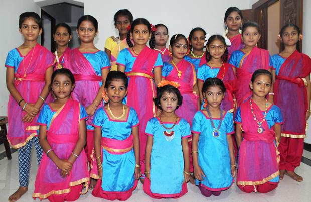 Jai Natanalaya bharatanatyam dance rameswaram team
