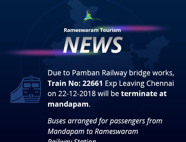 Rameswaram News - Indian Railway
