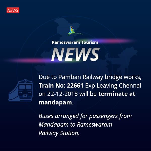 Rameswaram News - Indian Railway